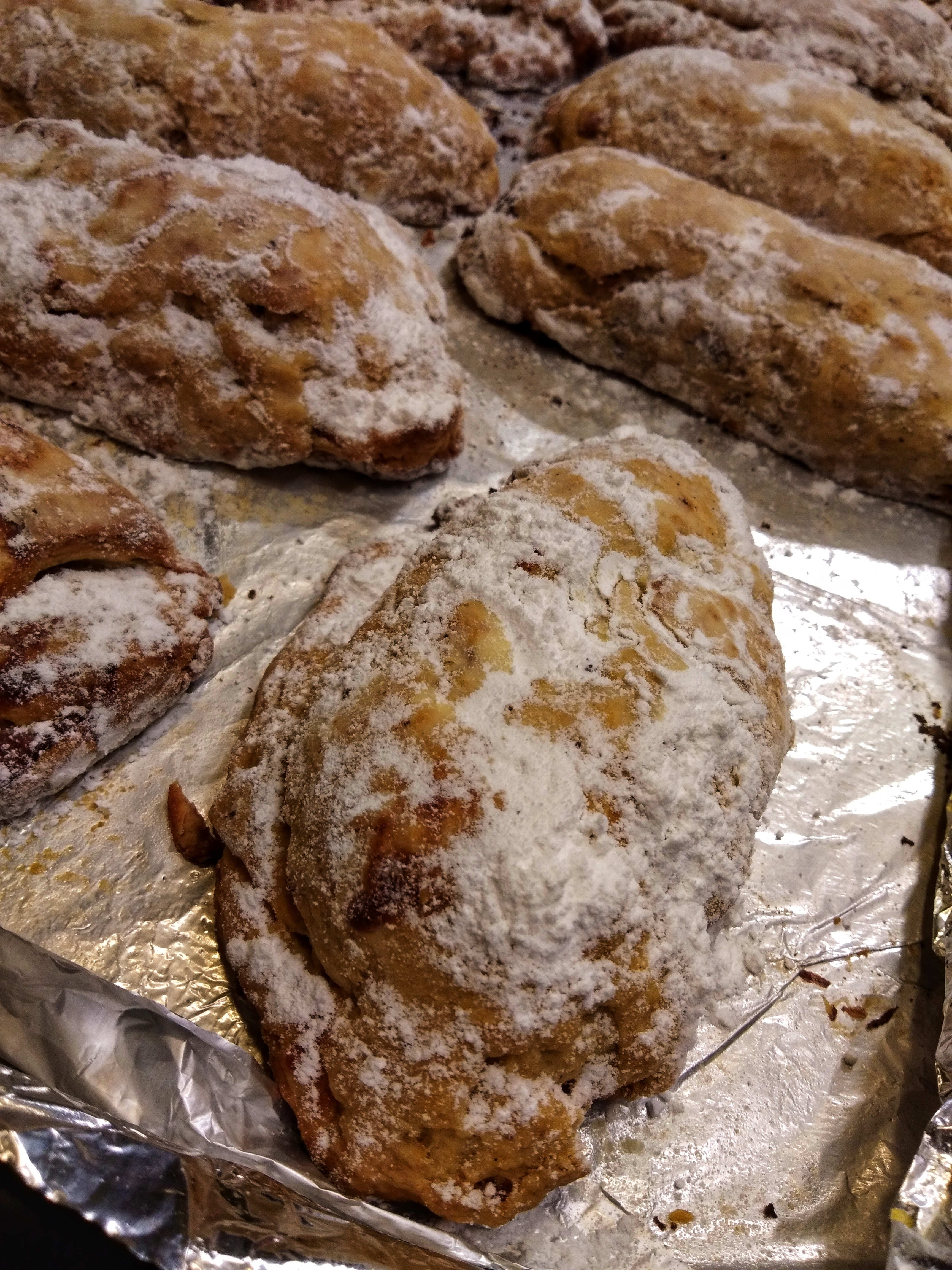 Traditional German Christmas Stollen